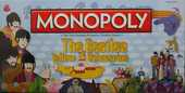 MONOPOLY the Beatles Yellow Submarine