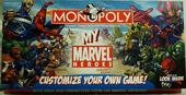 MONOPOLY my Marvel heroes collector's edition