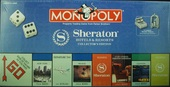 MONOPOLY Sheraton Hotels & Resorts collector's edition
