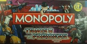 MONOPOLY the Transformers More than beets the eye! collector's edition