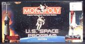 MONOPOLY U.S. space program edition