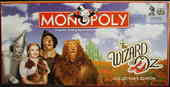 MONOPOLY the Wizard of Oz collector's edition