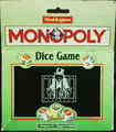 MONOPOLY dice game