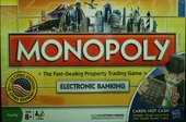 MONOPOLY electronic banking US cities edition