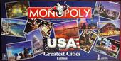 MONOPOLY USA greatest cities edition