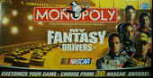 MONOPOLY my fantasy drivers NASCAR