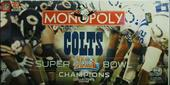 MONOPOLY Colts Super Bowl XLI champions collector's edition