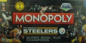 MONOPOLY Pittsburgh Steelers Super Bowl XLIII Champions collector's edition
