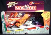 Johnny Lightning MONOPOLY 4 car box set plus exclusive game tokens
