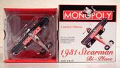 MONOPOLY 1931 Stearman bi-plane limited edition