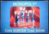 MONOPOLY coin sorter tube bank