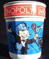[MONOPOLY plastic cup]