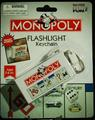 MONOPOLY flashlight keychain