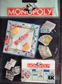 Sticker collage MONOPOLY