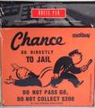 MONOPOLY chance card mouse pad