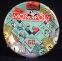 [MONOPOLY] 8-plastic coated plates