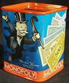 MONOPOLY bank tin