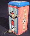 [MONOPOLY tin savings bank]