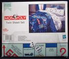 MONOPOLY twin sheet set